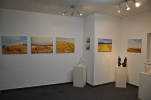"""Curves "" Antea Gallery Jerusalem, Israel (Solo) 2010"