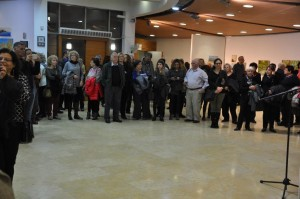 "Opening ceremony exhibition ""Connections"" , January 2017, Raanana, Israel"